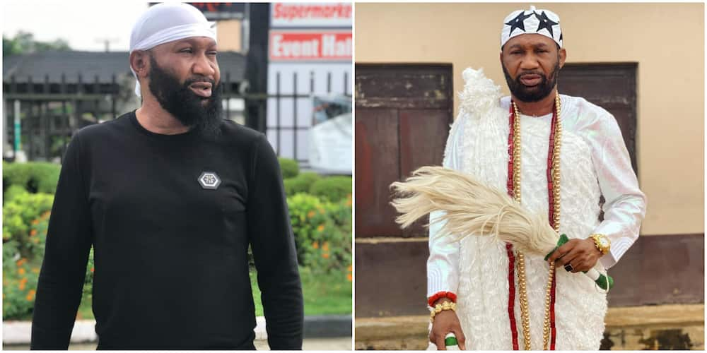 Nollywood actor and producer Omogoriola Hassan crowned as king of Imobi Kingdom