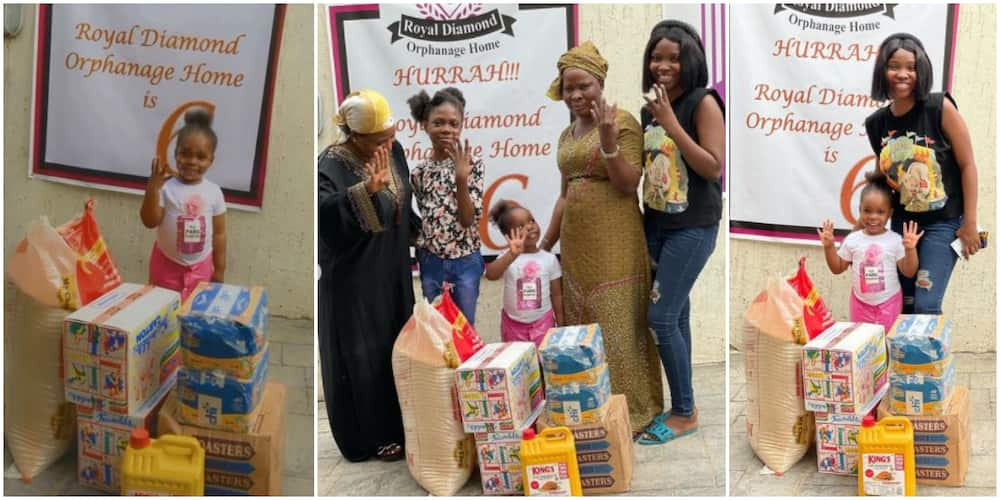 Viral Dancing Baby Girl Visits Orphanage Home to Celebrate 4th Birthday