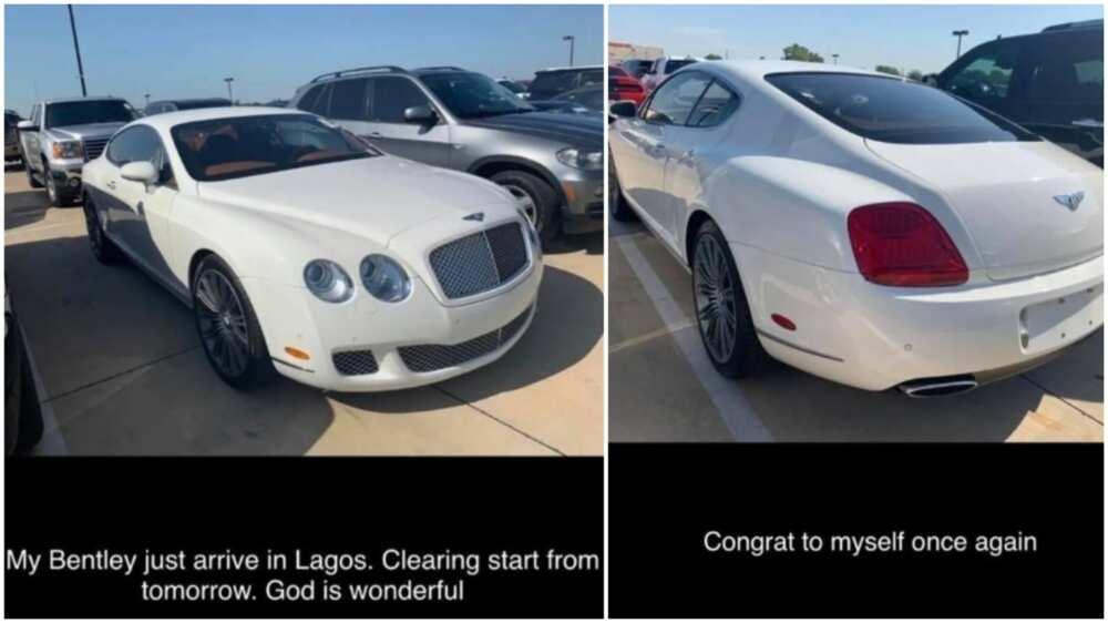 Bobrisky buys new Bentley, advises ladies to work for their money
