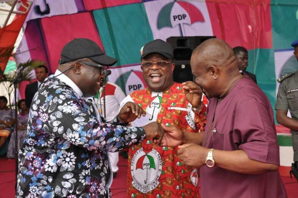 Defection: Ebonyi PDP says Umahi is intimidating its chieftains