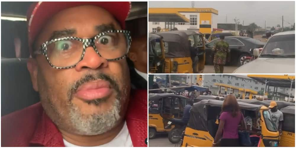 US gospel singer Byron Cage shares Lagos traffic experience.