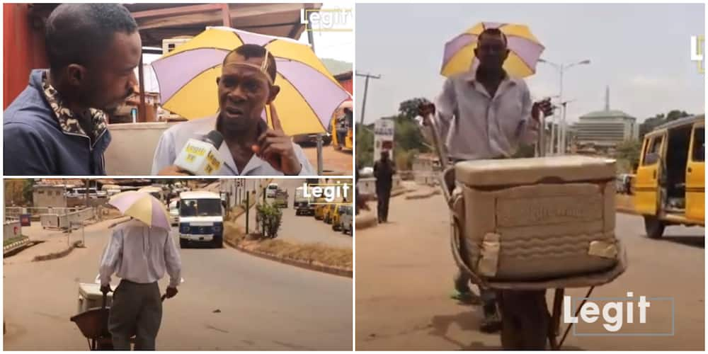 30-year-old Man Shares Touching Story of Why He Hawks Sachet Water on the Streets