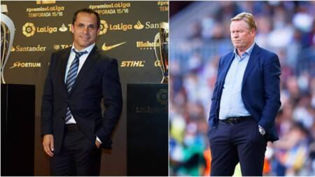 Jubilation as Barcelona name new manager after Ronald Koeman's sacking