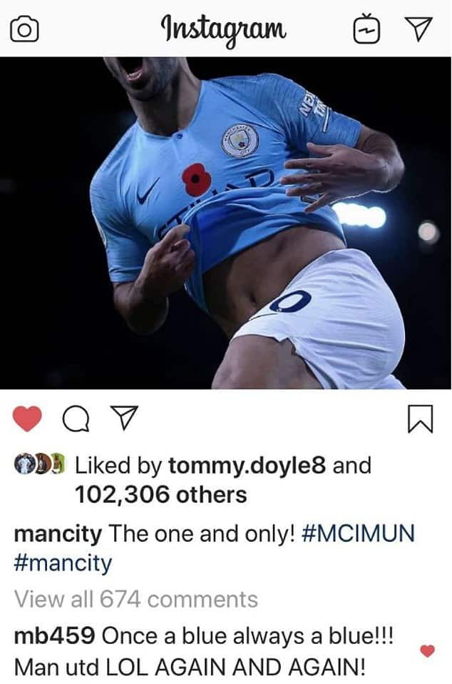 Mario Balotelli mocks Man United after Manchester derby defeat