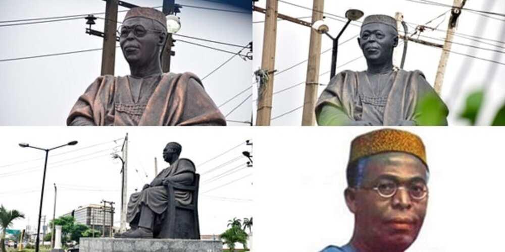 Abun dariya abun haushi: An sace madubin idon gunkin Awolowo a Lagos