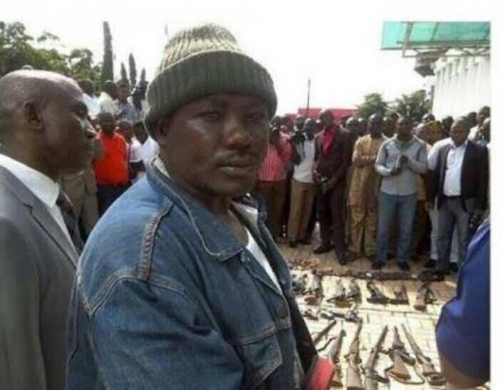Notorious Benue criminal Gana surrenders self to Governor Ortom