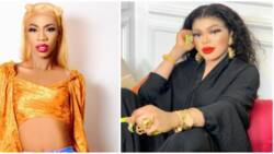 I wish you a quick recovery, I will always pray for you aunty mi: James Brown to Bobrisky