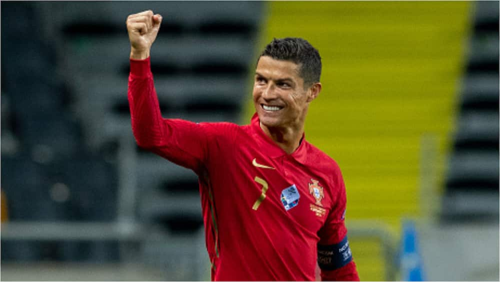 Cristiano Ronaldo says he has nothing to prove to anyone after milestone record
