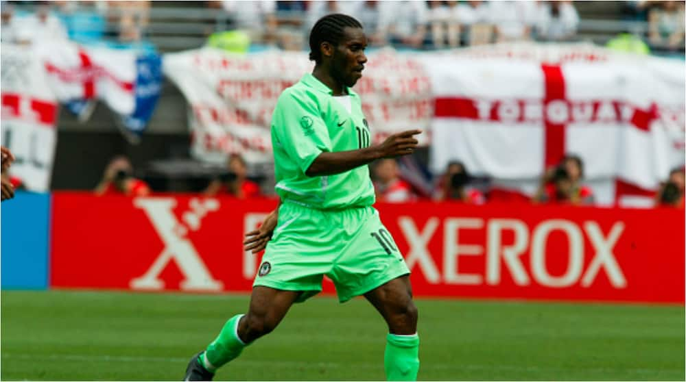 Outrage As FIFA Hails Eagles Legend Okocha As Africa's Equivalent to Ronaldinho While Celebrating His Birthday