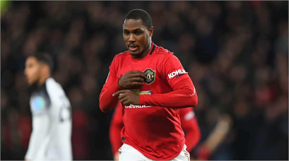 Ighalo reveals why he snubbed Tottenham and Mourinho to sign for Man United