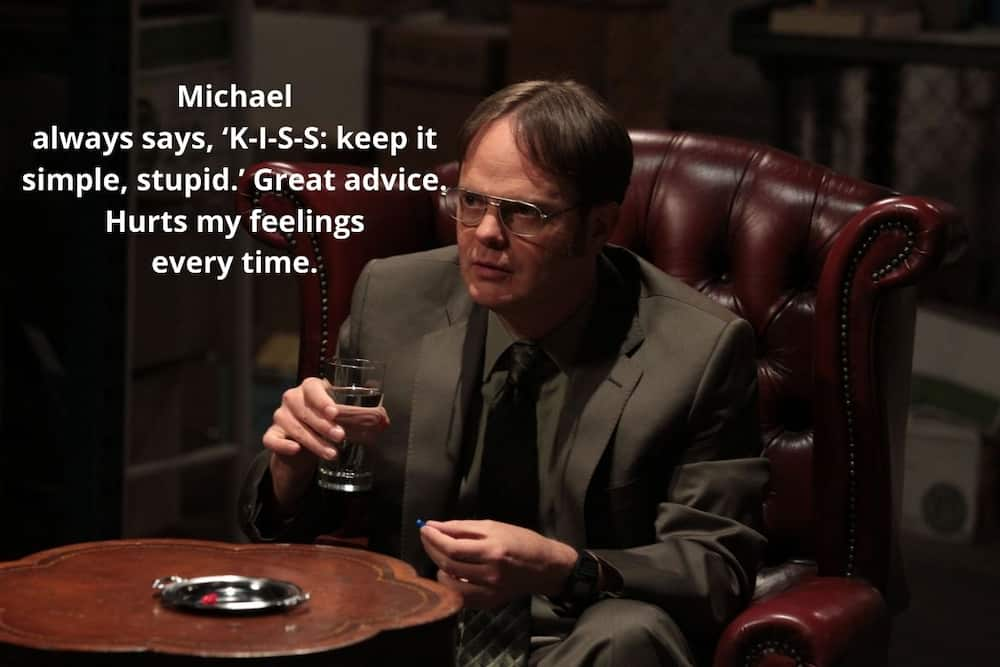 best dwight quotes