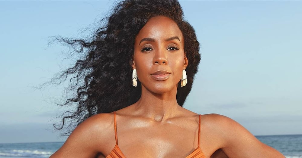 Singer Kelly Rowland announces second pregnancy in style on cover of popular health magazine