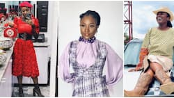 Deborah Enenche rocks makeup and 'normal' clothes, Nigerians beg her to maintain new look