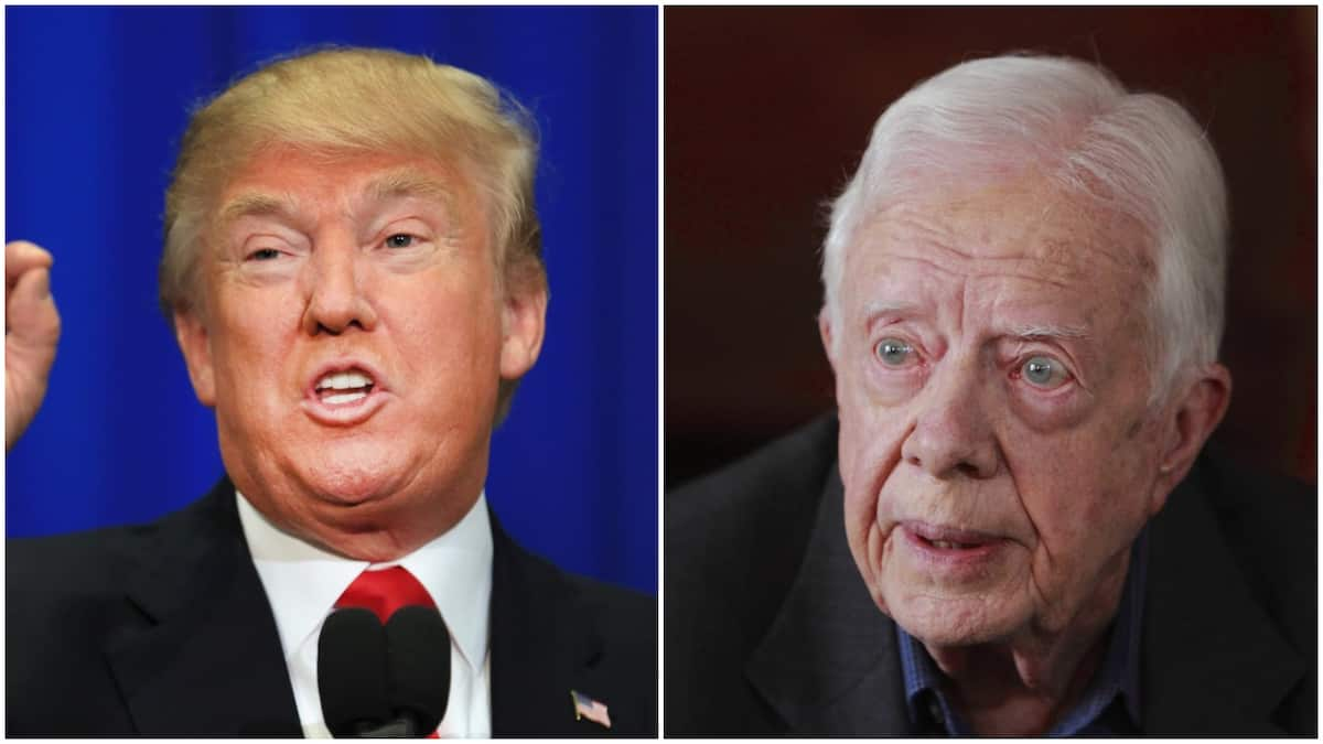 Re-electing Trump in 2020 will be a disaster - Jimmy Carter