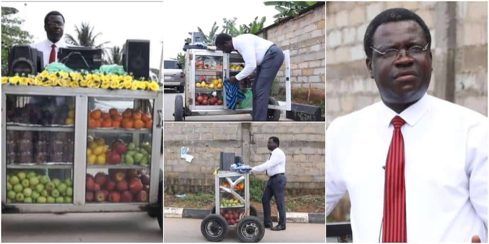 Abraham Chukwu: Meet corporate fruit seller in Benin city