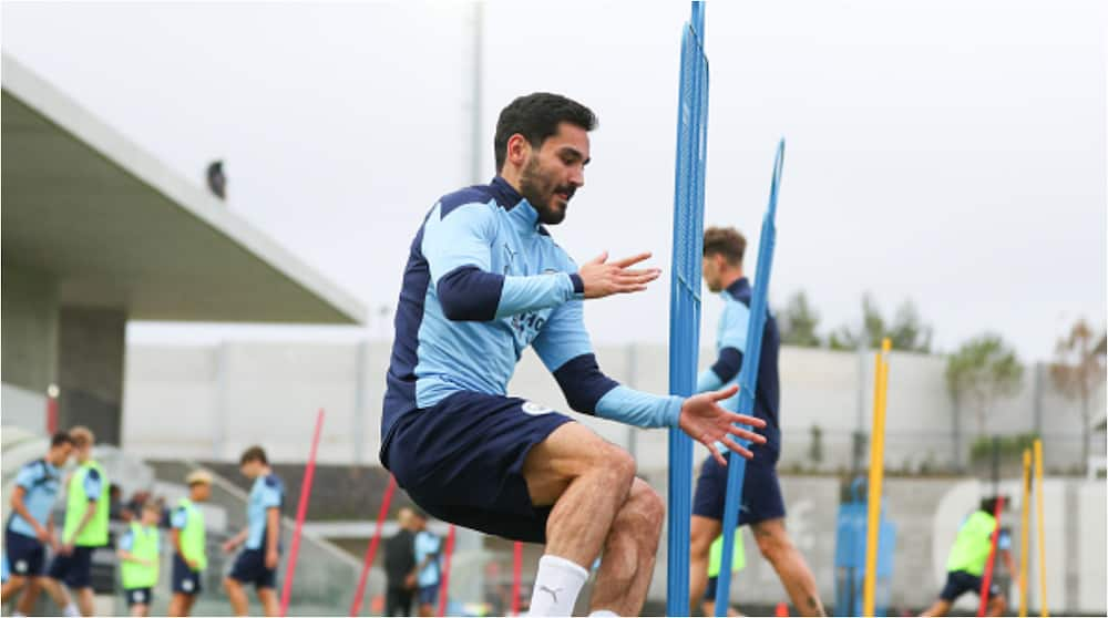 Ilkay Gundogan: Manchester City star out of Wolves' clash after testing positive for coronavirus