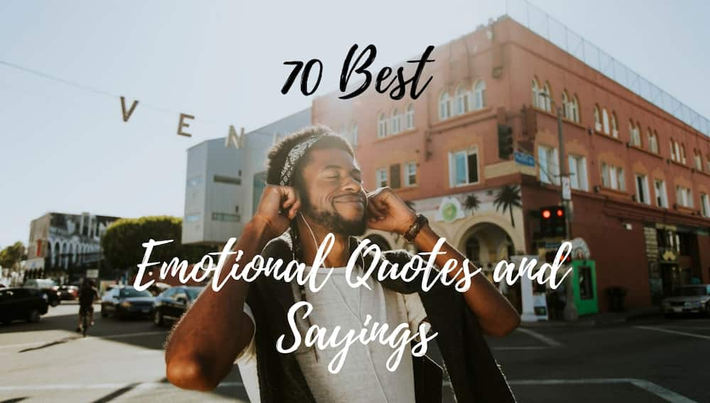 Emotional quotes and sayings