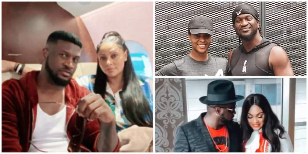 Jude and Paul Okoye's wives commiserate with Peter's wife Lola Omotayo