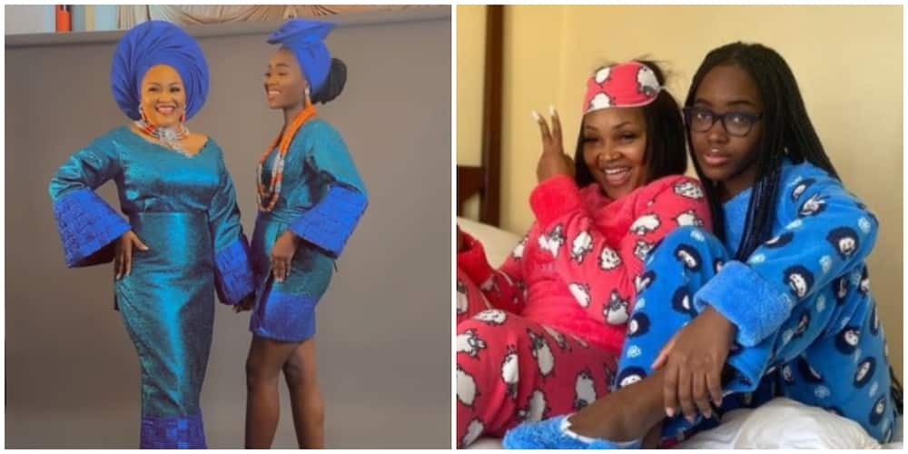 Mercy Aigbe's daughter Michelle Gentry celebrates actress on birthday