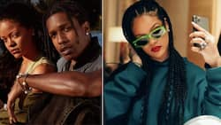 Going strong: Rihanna & ASAP Rocky go on another date night in New York city
