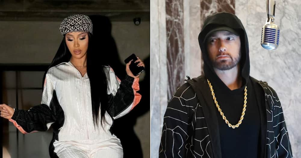 Cardi B denies rumours of Eminem snubbing a feature on her new album