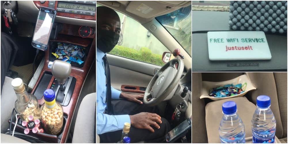 The driver has been appreciated on social media for his service