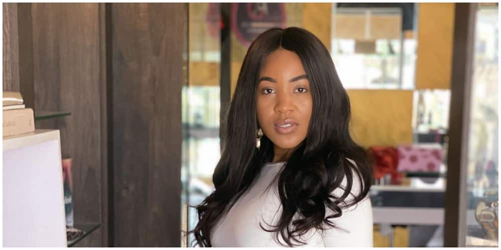 Female fan goes gaga after meeting BBNaija's Erica for the first time in Abia