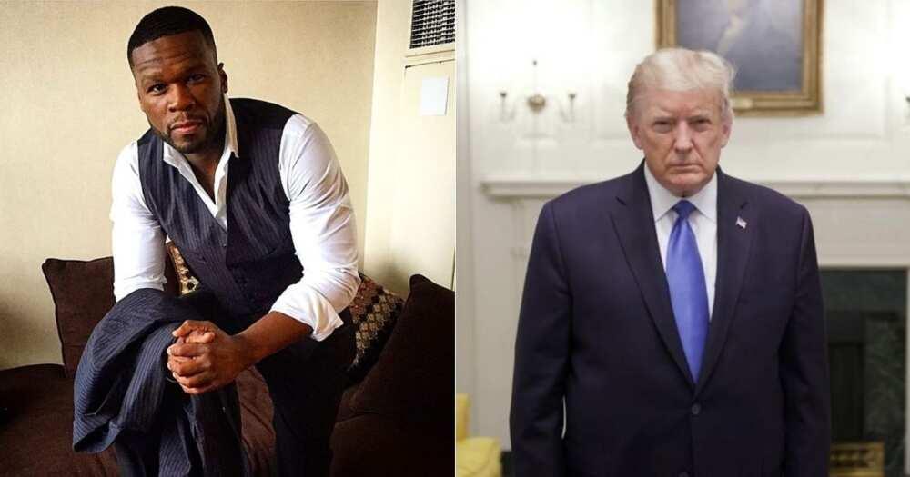 50 Cent endorses Donald Trump after seeing Joe Biden's tax plan