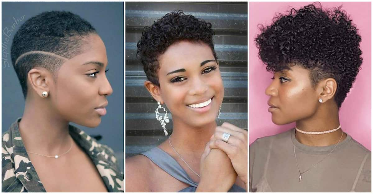 Top-15 easy natural hairstyles for short hair