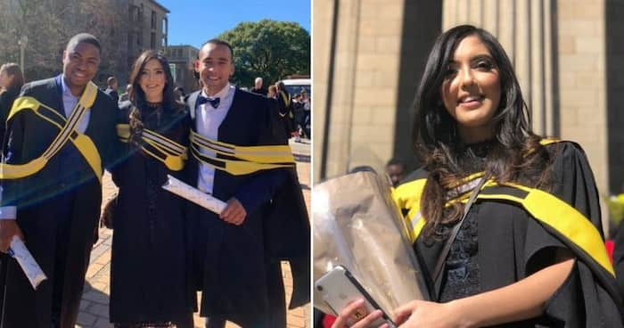 Beauty and brains: Young woman, 23, graduates with 2nd degree