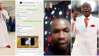 Church founder places sacked Winners Chapel pastor on 5 years salary of N100k per month, Nigerians react