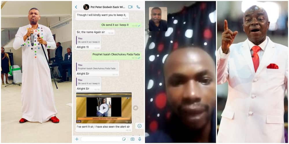 Nigerians express surprise as a foreign church owner places sacked Winners pastor on a salary for 5 years, to pay him N100k monthly