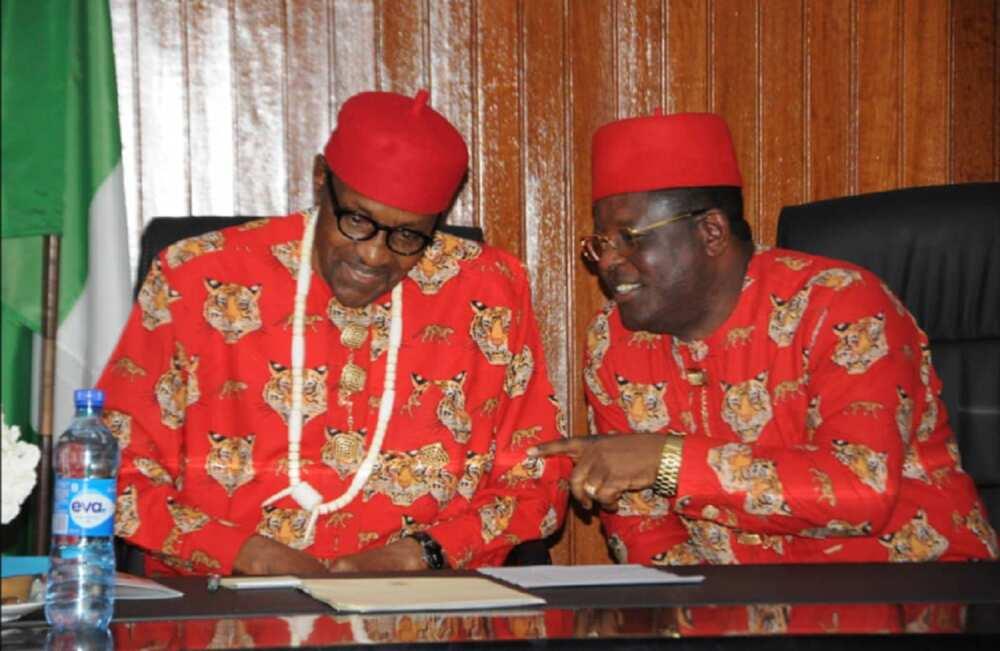 Yadda Buhari ya sanya ni barin PDP zuwa APC, Gwamna Dave Umahi ya magantu (Bidiyo)