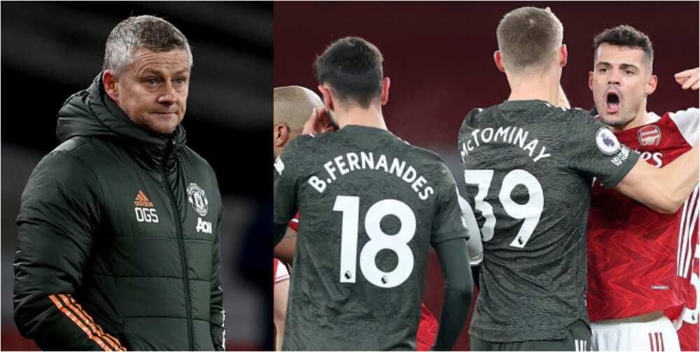 Man United boss Solskjaer fires warning to Bruno Fernandes after Arsenal draw
