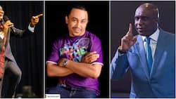 Daddy Freeze Vs Ibiyeomie: Another pastor wades in, curses OAP and calls him mad dog (video)