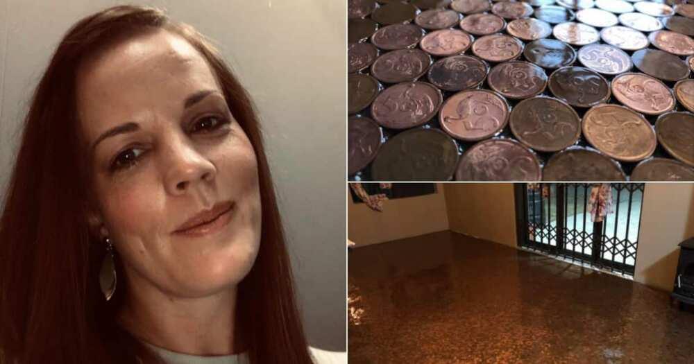 SA Accountant Karmen Swanepoel Decorates Floor