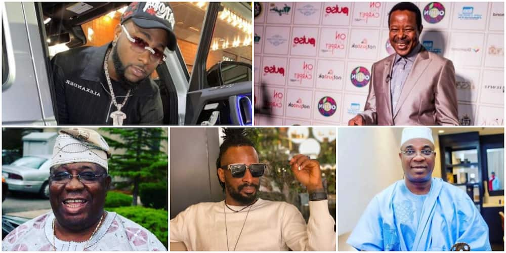 Davido, KSA, KWAM 1 and 8 Other Nigerian Celebs with 3 or More Baby Mamas