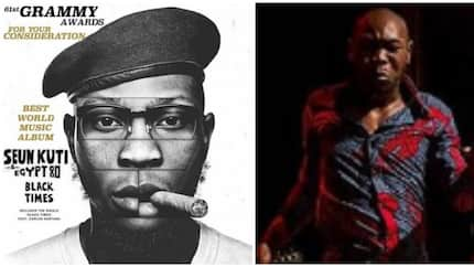 Fela Kuti's son Seun celebrates as he gets nominated for the 61st Grammy (photos)