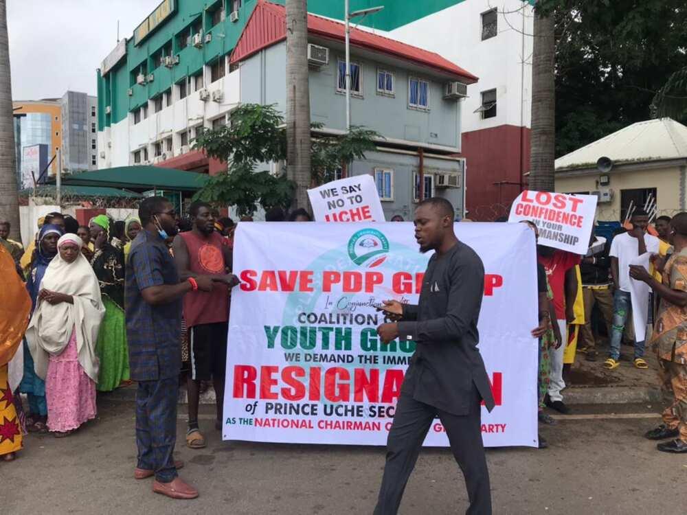 Matasa sun fito zanga-zanga a Abuja