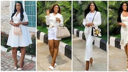White is the new cool: Linda Ikeji keeps things chic and pristine in 11 fashionable looks