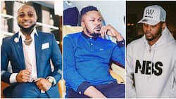Davido re-addresses allegations that he slapped Kizz Daniel's manager, says it hurts