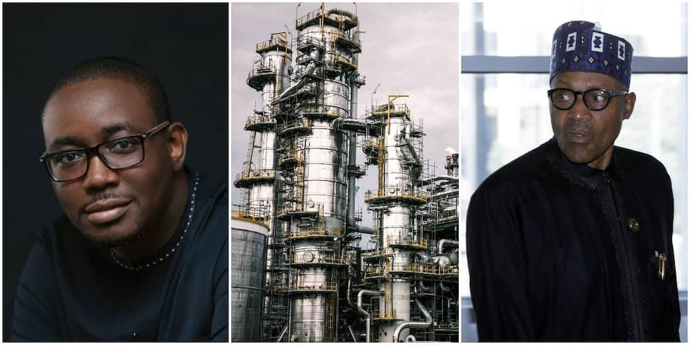 This oil expert says Nigerian government is too corrupt, incompetent to run a refinery