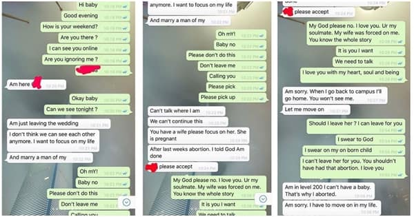 Pregnant wife left heartbroken after discovering her husband has a pregnant side chic