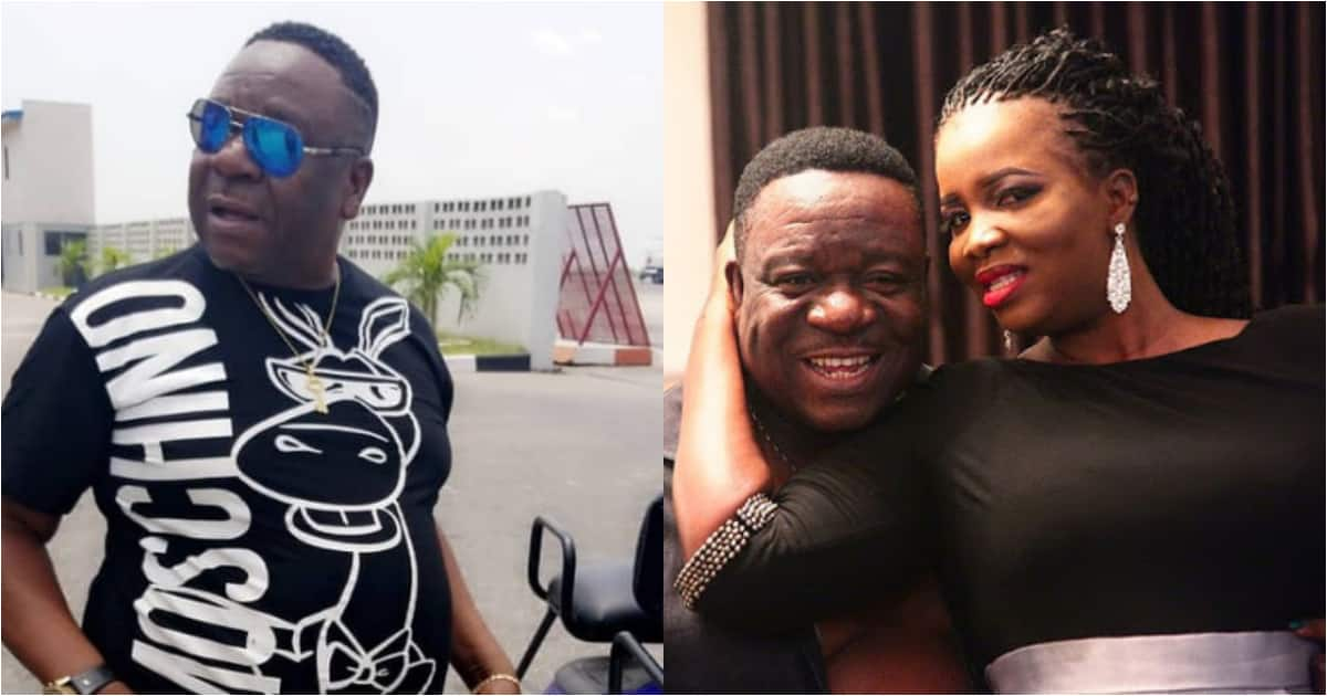 Actor Mr Ibu advises men on how to find a good wife just like he did