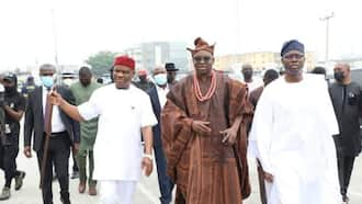 Makinde attends wedding of Fayose's son, warns youths to stop fighting over politicians