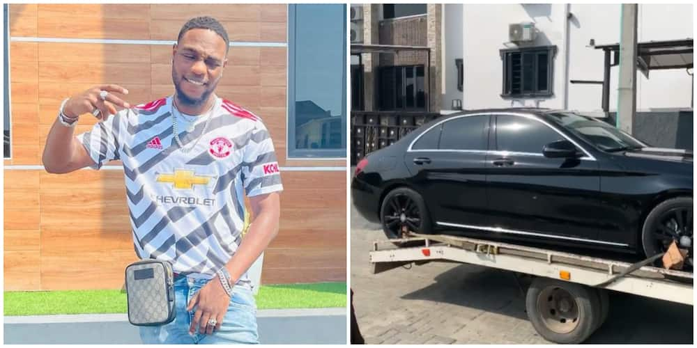 Singer LAX takes delivery of two brand new multimillion naira cars (video)
