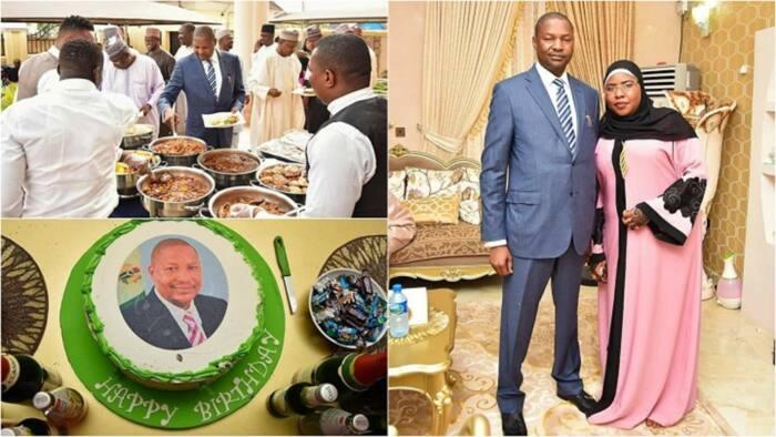 An ci an sha yayin da Ministan Buhari yayi bikin cika shekaru 52 a rayuwa (Hotuna)