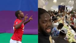 Obafemi Martins, Obi Cubana, Showkey, others storm Ighalo's mansion as he throws wild party to celebrate his birthday