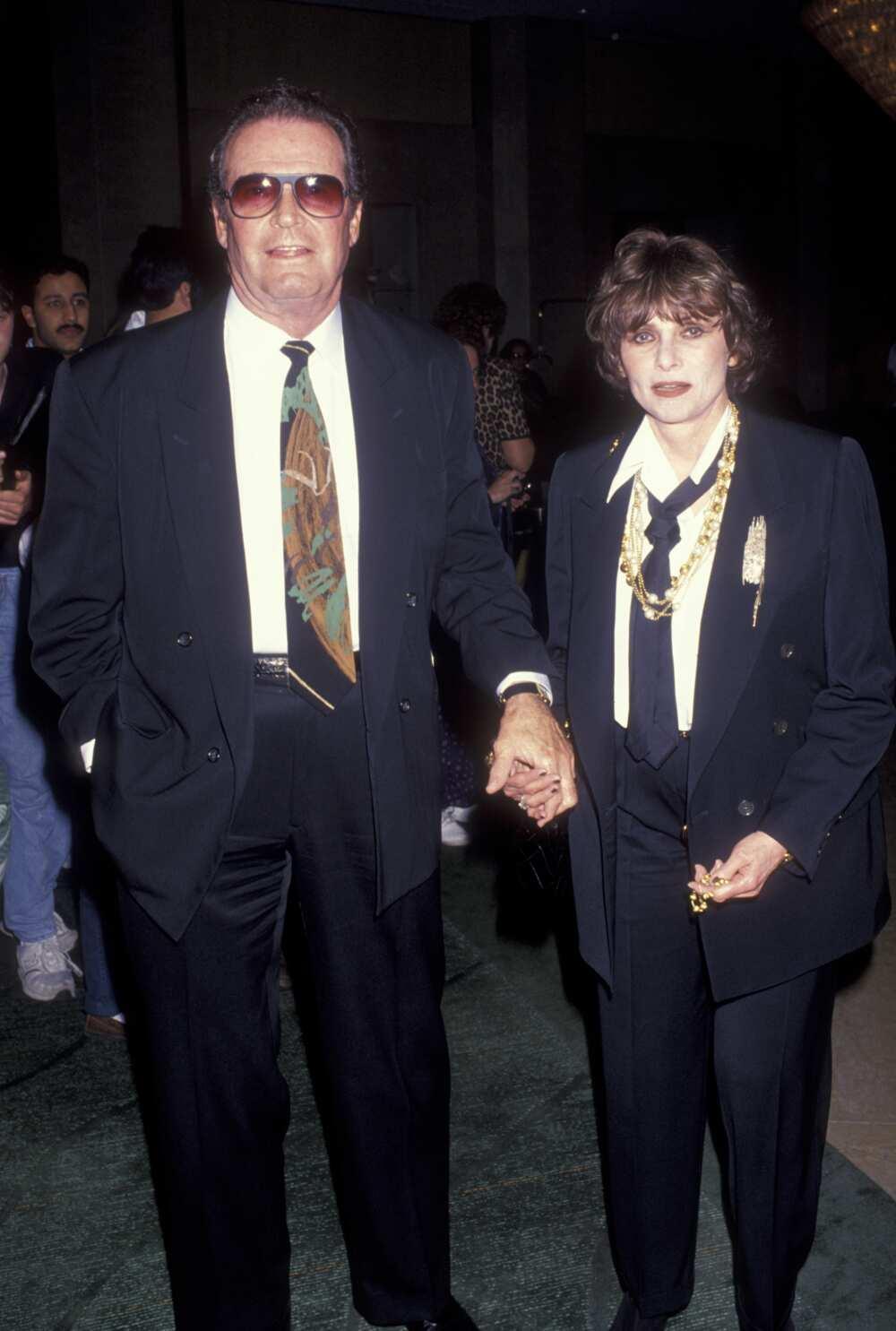 James Garner and wife