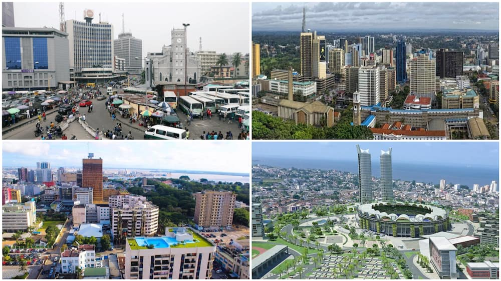 A collage of some of the ranked cities. Photo source: Face2Face Africa
